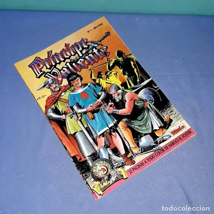 LOTE DE 4 COMICS DE EL PRINCIPE VALIENTE EDICION HISTORICA EDICIONES B AÑOS 80 ORIGINALES (Tebeos y Comics - Ediciones B - Clásicos Españoles)