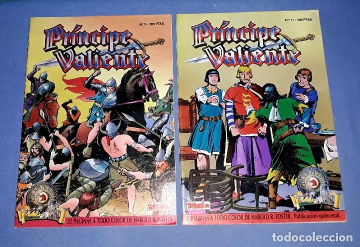 Cómics: LOTE DE 4 COMICS DE EL PRINCIPE VALIENTE EDICION HISTORICA EDICIONES B AÑOS 80 ORIGINALES - Foto 3 - 202312402