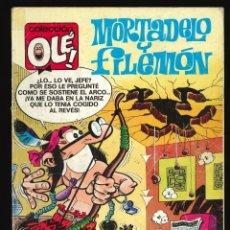 Fumetti: COLECCIÓN OLÉ - EDICIONES B / NÚMERO 340 (MORTADELO Y FILEMÓN - SIMÓN EL ESCURRIDIZO). Lote 202393778