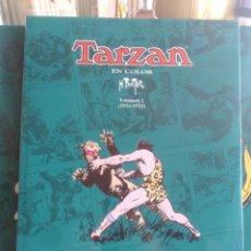Cómics: TARZAN - 4 VOLÚMENES DE 1931 A 1935 - COMPLETA - COMO NUEVA. Lote 202746617