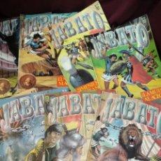 Comics: LOTE 8 NÚMEROS EL JABATO EDICIONES B. Lote 202941282