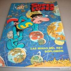 Cómics: SUPER LÓPEZ 32 LAS MINAS DEL REY SOPLOMON EDICIONES B 1 EDICION. Lote 203180443