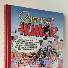 Cómics: SUPER HUMOR MORTADELO Y FILEMÓN *** EDICIONES B NÚMERO 21. Lote 203460650