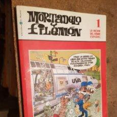 Cómics: TEBEO / CÓMIC MORTADELO Y FILEMÓN N 1 LO MEJOR DEL CÓMIC ESPAÑOL EL MUNDO 2006. Lote 203972937