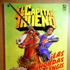 Comics : EL CAPITÁN TRUENO ; LAS HORDAS DE GENGIS KHAN. Lote 204117403