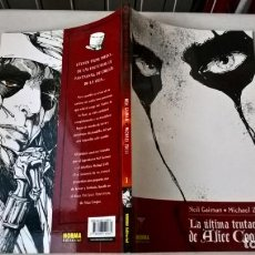 Cómics: COMIC LA ULTIMA TENTACION DE ALICE COOPER Nº 1 COLECCION MADE IN HELL. Lote 204217177
