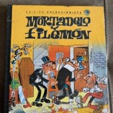 Cómics: MORTADELO Y FILEMON 55 EDICION COLECCIONISTA SALVAT NUEVO PRECINTADO. Lote 204258460