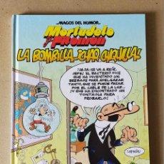 Cómics: COLECCION MAGOS DEL HUMOR. MORTADELO Y FILEMON Nº 149 LA BOMBILLA CHAO..CHIQULLA - ED B 1ª EDIC 2006. Lote 204305752