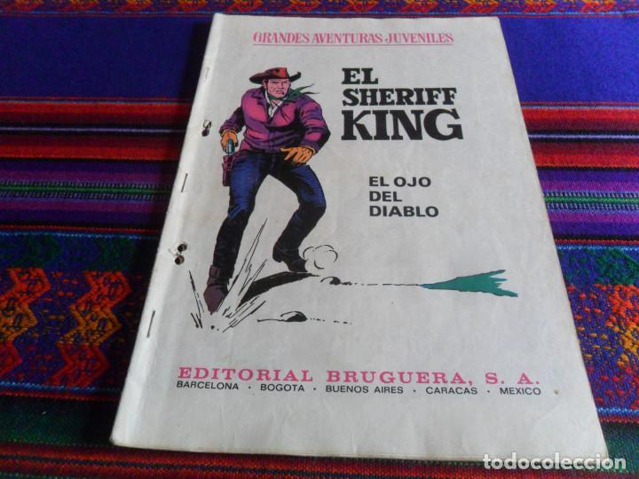 Cómics: EL SHERIFF KING Nº 2. EDICIONES B 1ª EDICIÓN 2007. REGALO Nº 55 EL OJO DEL DIABLO. BRUGUERA 1973. - Foto 2 - 41797971