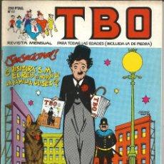Cómics: TBO Nº 17 - EDICIONES B. Lote 204479015