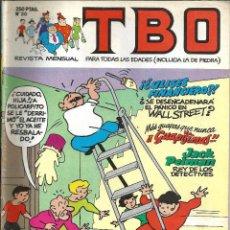 Cómics: TBO Nº 20 - EDICIONES B. Lote 204479160