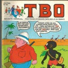 Cómics: TBO Nº 46 - EDICIONES B. Lote 204479915