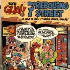 Cómics: 7 REBOLLING STREET (TEBEOS SA, 1989) TOPE GUAI-Nº 22, DE FRANCISCO IBAÑEZ. Lote 204567068