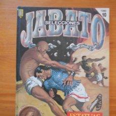Cómics: SELECCIONES JABATO TOMO Nº 10 - ESTATUAS VIVIENTES - EDICION HISTORICA - EDICIONES B (F1). Lote 205002235