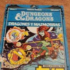 Cómics: COMIC FORUM DRAGONES Y MAZMORRAS, EDICION N. 1, 125 PTAS. Lote 205268546