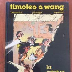 Cómics: TIMOTEO O. WANG. LA ESTATUA VIVIENTE. Lote 205281485