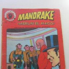 Cómics: MANDRAKE, MERLIN EL MAGO Nº 11 - SUPERCOMICS GARBO CX58. Lote 205388498