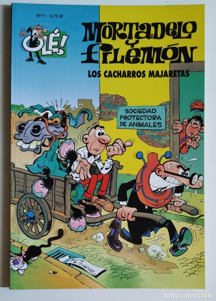 CÓMIC OLÉ! MORTADELO Y FILEMÓN Nº 71 LOS CACHARROS MAJARETAS - GRUPO Z EDICIONES B 2002 (Tebeos y Comics - Ediciones B - Humor)