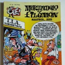 Cómics: CÓMIC OLÉ! MORTADELO Y FILEMÓN Nº 50 MAASTRICH... JESÚS - GRUPO Z EDICIONES B. Lote 205407667