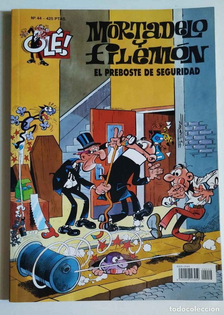 CÓMIC OLÉ! MORTADELO Y FILEMÓN Nº 44 EL PREBOSTE DE SEGURIDAD - GRUPO Z EDICIONES B 2001 (Tebeos y Comics - Ediciones B - Humor)