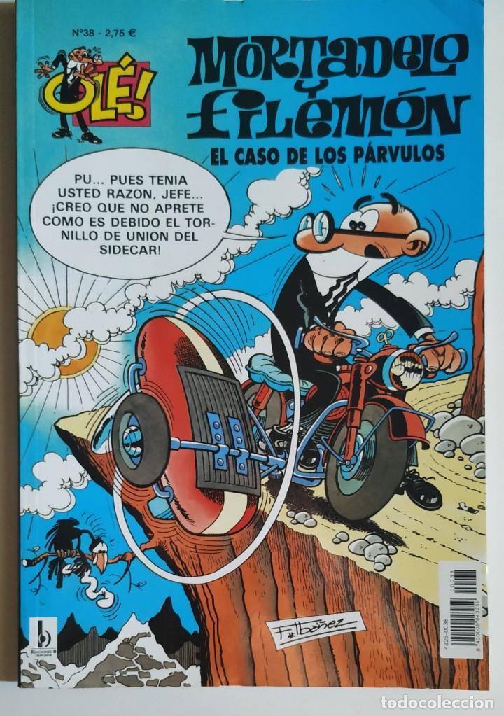 CÓMIC OLÉ! MORTADELO Y FILEMÓN Nº 38 EL CASO DE LOS PÁRVULOS - GRUPO Z EDICIONES B 2002 (Tebeos y Comics - Ediciones B - Humor)