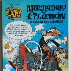 Cómics: CÓMIC OLÉ! MORTADELO Y FILEMÓN Nº 38 EL CASO DE LOS PÁRVULOS - GRUPO Z EDICIONES B 2002. Lote 205408546