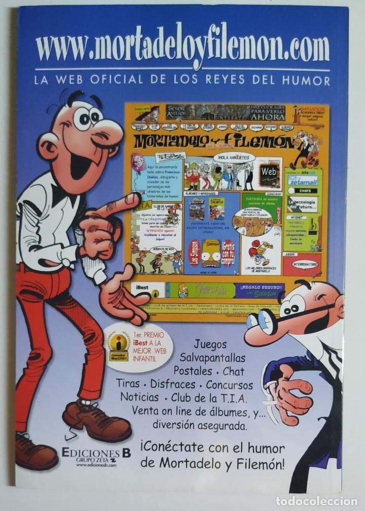 Cómics: Cómic OLÉ! MORTADELO Y FILEMÓN nº 38 El Caso De Los Párvulos - Grupo Z Ediciones B 2002 - Foto 2 - 205408546