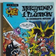 Cómics: CÓMIC OLÉ! MORTADELO Y FILEMÓN Nº 34 LA COCHINADITA NUCLEAR - GRUPO Z EDICIONES B. Lote 205408813
