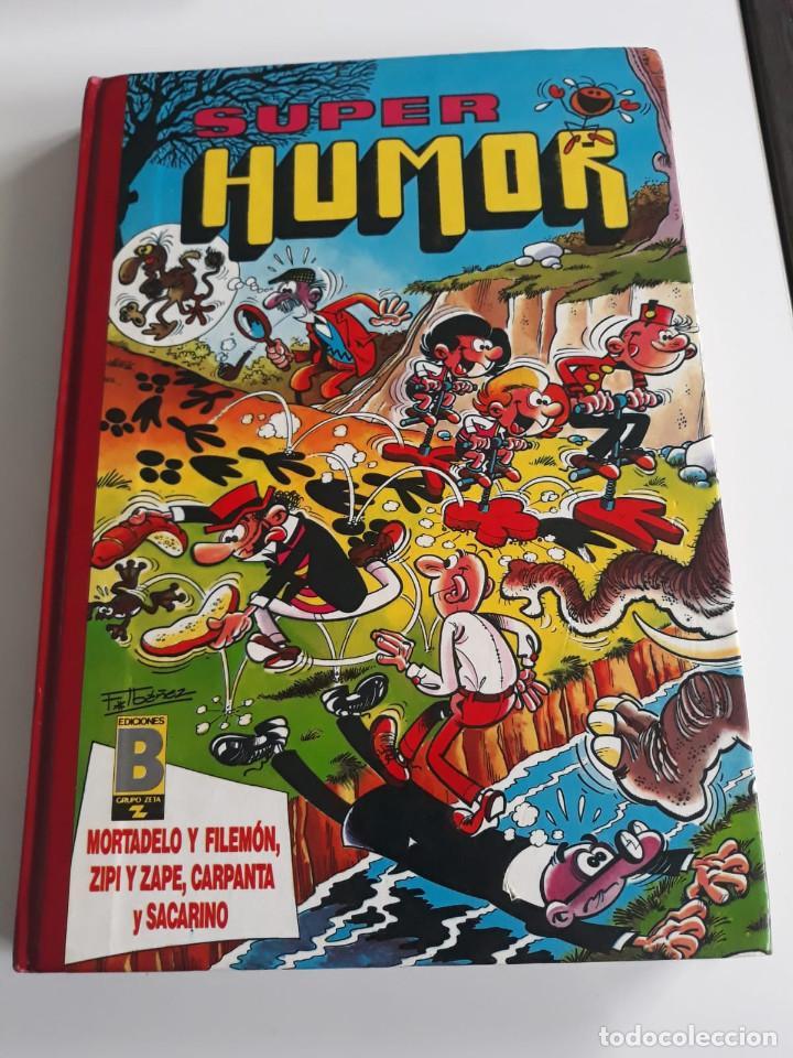 SUPER HUMOR. VOLUMEN 26. MORTADELO, ZIPI Y ZAPE, CARPANTA Y SACARINO. EDIC. B. GRUPO Z. 1990 (Tebeos y Comics - Ediciones B - Humor)
