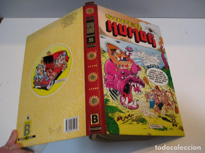 HUMOR, VOLUMEN 53 (EDICIONES B, 1989).HISTORIAS LARGAS OLE 316 MUNDIAL MEJICO ,LOS SIETE INVASORES (Tebeos y Comics - Ediciones B - Humor)