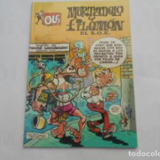 Cómics: MORTADELO Y FILEMON-EL S.O.E.. Lote 205512923