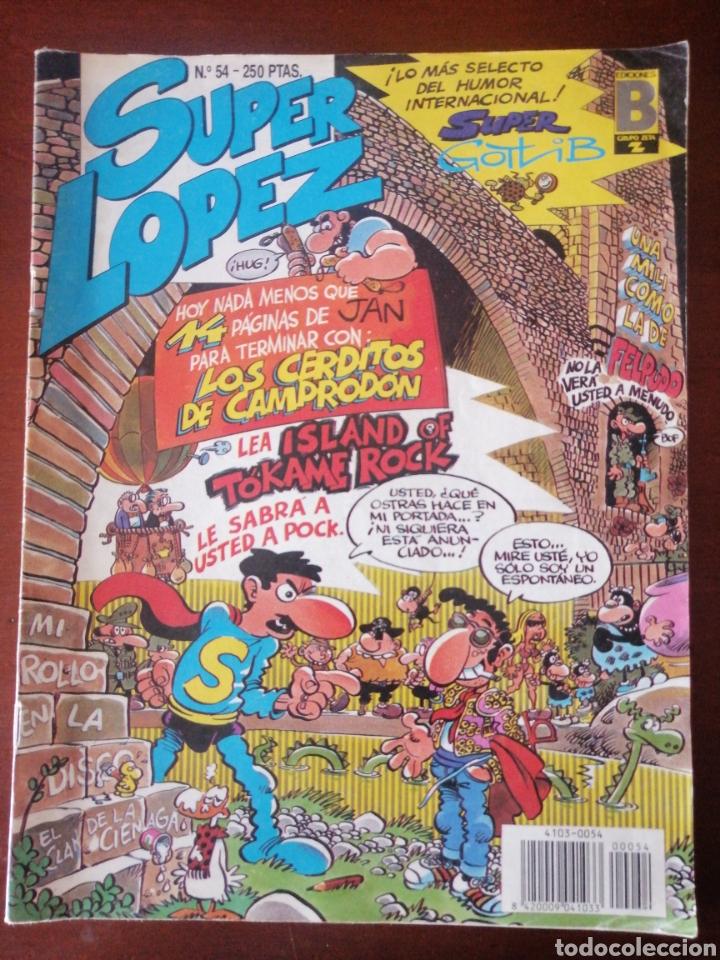 SUPER LOPEZ 54 EDICIONES B SUPERLÓPEZ JAN MBE (Tebeos y Comics - Ediciones B - Clásicos Españoles)