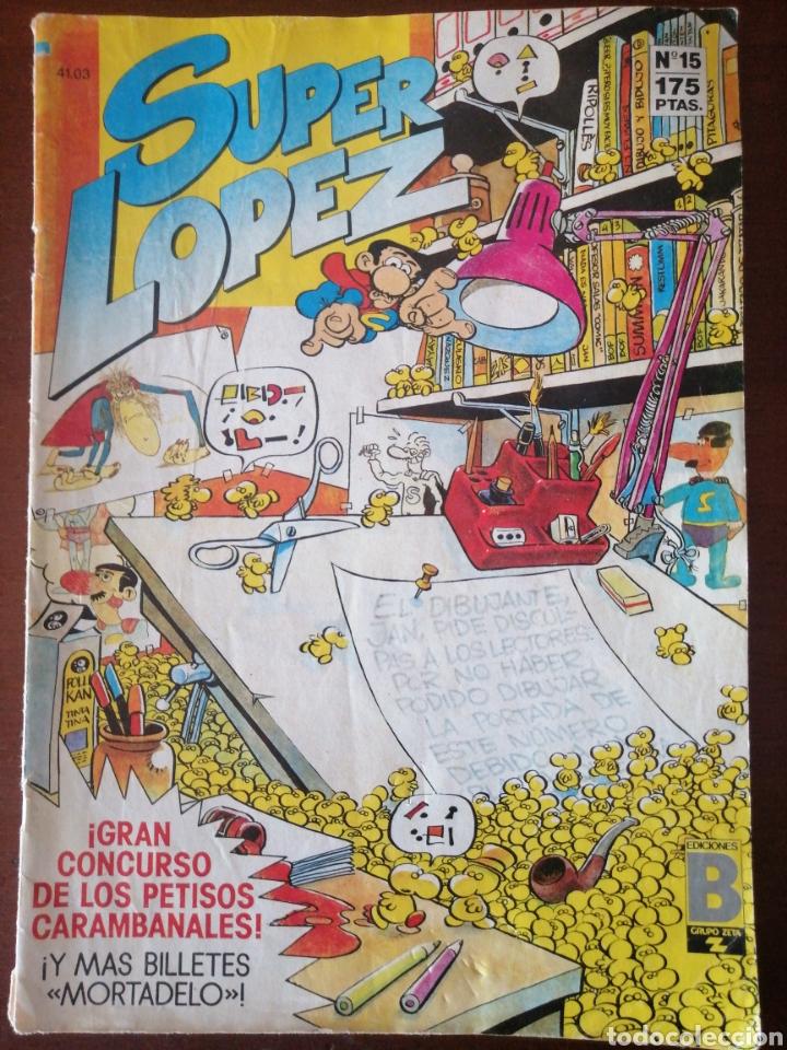 SUPER LOPEZ 15 EDICIONES B SUPERLÓPEZ JAN (Tebeos y Comics - Ediciones B - Clásicos Españoles)