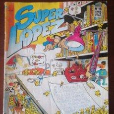 Cómics: SUPER LOPEZ 15 EDICIONES B SUPERLÓPEZ JAN. Lote 205568315