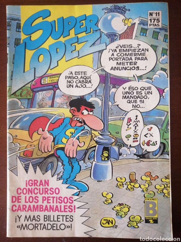 SUPER LOPEZ 11 EDICIONES B SUPERLÓPEZ JAN MBE (Tebeos y Comics - Ediciones B - Clásicos Españoles)