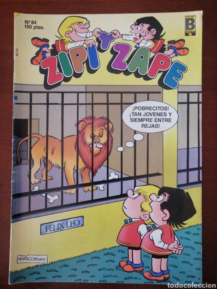 ZIPI Y ZAPE 84 EDICIONES B 1988 (Tebeos y Comics - Ediciones B - Clásicos Españoles)