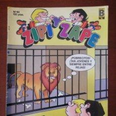 Cómics: ZIPI Y ZAPE 84 EDICIONES B 1988. Lote 205574327