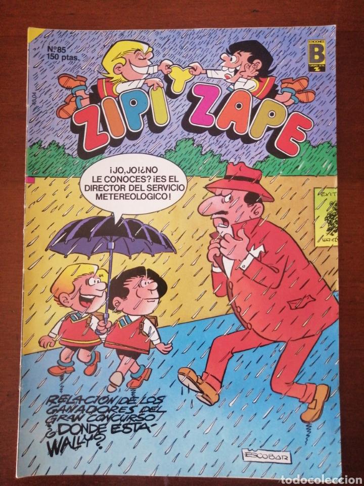 ZIPI Y ZAPE 85 EDICIONES B 1988 (Tebeos y Comics - Ediciones B - Clásicos Españoles)