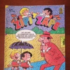 Cómics: ZIPI Y ZAPE 85 EDICIONES B 1988. Lote 205575821