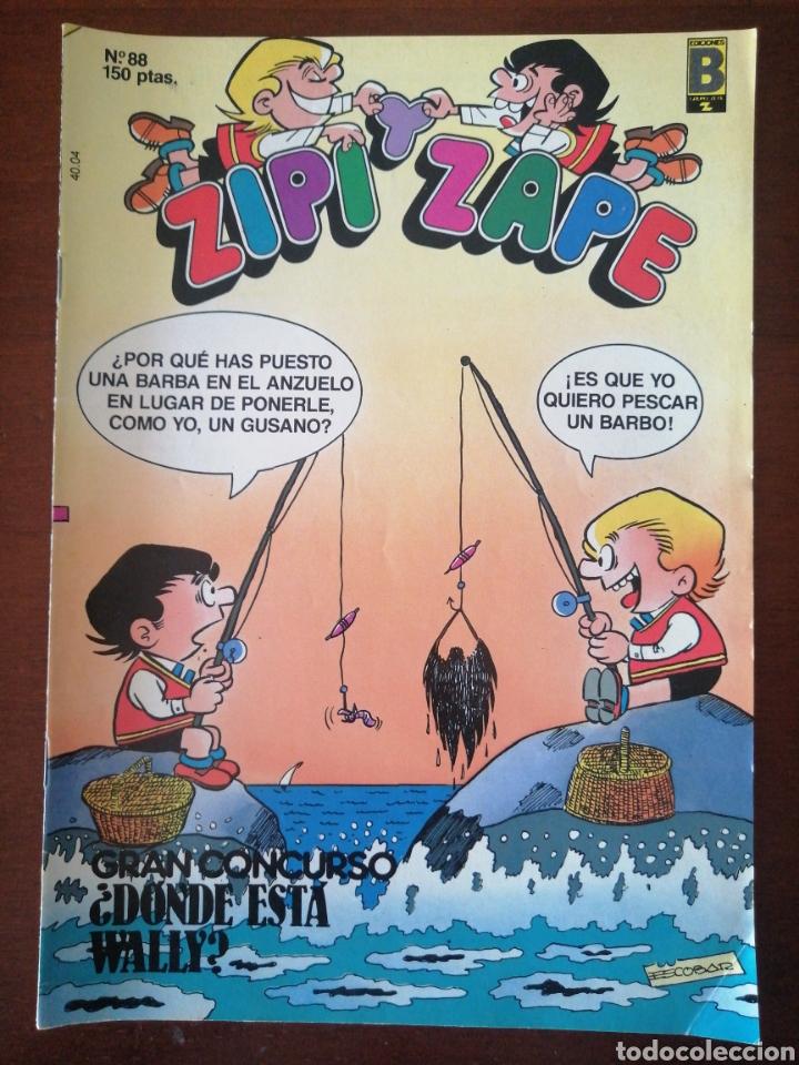 ZIPI Y ZAPE 88 EDICIONES B 1989 (Tebeos y Comics - Ediciones B - Clásicos Españoles)