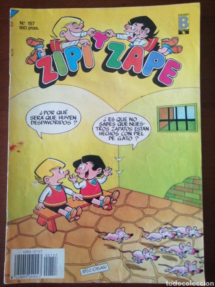 ZIPI Y ZAPE 157 EDICIONES B 1990 (Tebeos y Comics - Ediciones B - Clásicos Españoles)