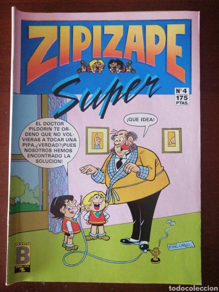 ZIPI ZAPE SUPER 4 EDICIONES B 1987 (Tebeos y Comics - Ediciones B - Clásicos Españoles)