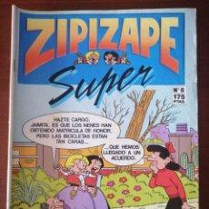 Cómics: ZIPI ZAPE SUPER 6 EDICIONES B 1987. Lote 205579850