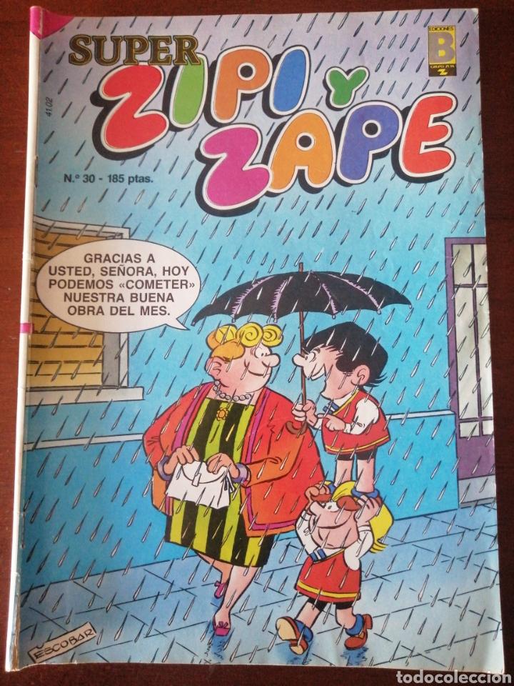 SUPER ZIPI Y ZAPE 30 EDICIONES B 1987 (Tebeos y Comics - Ediciones B - Clásicos Españoles)
