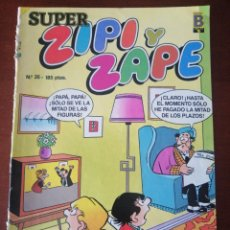 Cómics: SUPER ZIPI Y ZAPE 35 EDICIONES B 1987. Lote 205580972