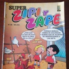 Cómics: SUPER ZIPI Y ZAPE 48 EDICIONES B 1987. Lote 205581333