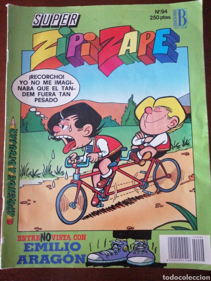 SUPER ZIPI ZAPE 94 EDICIONES B 1991 (Tebeos y Comics - Ediciones B - Clásicos Españoles)