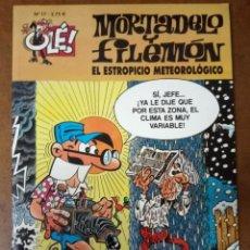 Comics : MORTADELO Y FILEMON COL. OLE Nº 17 EL ESTROPICIO METEOROLOGICO - EDICIONES B - BUEN ESTADO - SUB01MR. Lote 205597696