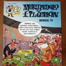 Cómics: MORTADELO Y FILEMON COL. OLE Nº 61 MUNDIAL 78 - EDICIONES B - BUEN ESTADO - SUB01MR. Lote 205597758