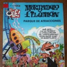 Comics : MORTADELO Y FILEMON COL. OLE Nº 166 PARQUE DE ATRACCIONES - EDICIONES B - BUEN ESTADO - SUB01MR. Lote 205597971